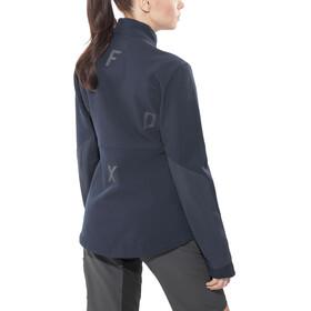 Fox Attack Fire Jacket Women blue